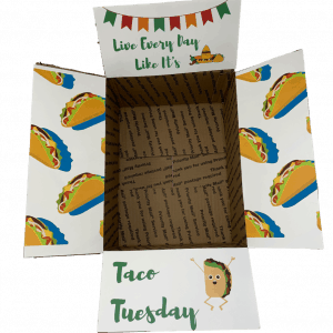 taco care package printables